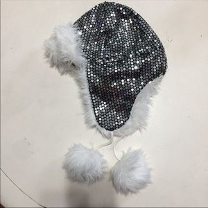 Sequin Fur Hat